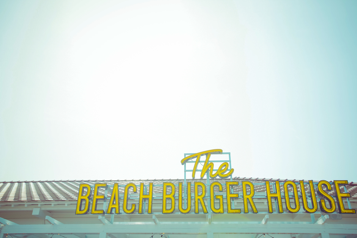 THE BEACH BURGER HOUSE